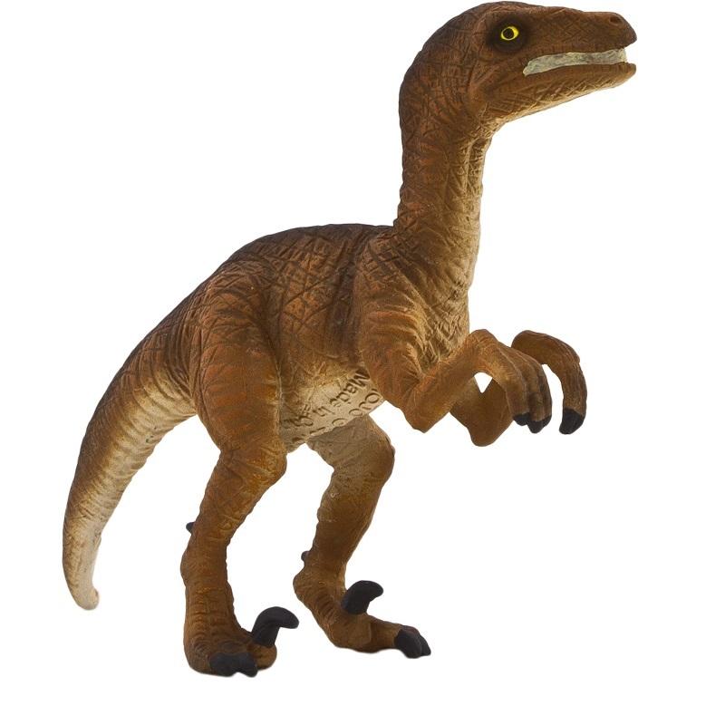 Velokiraptor dino-pruun