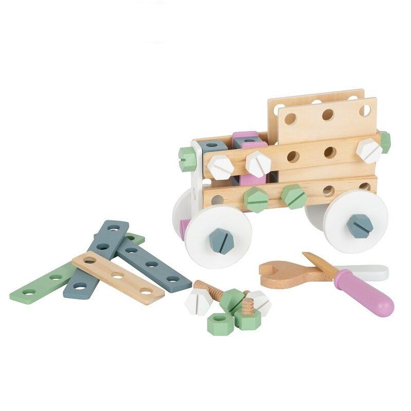 Puidust konstruktor ehitamiseks