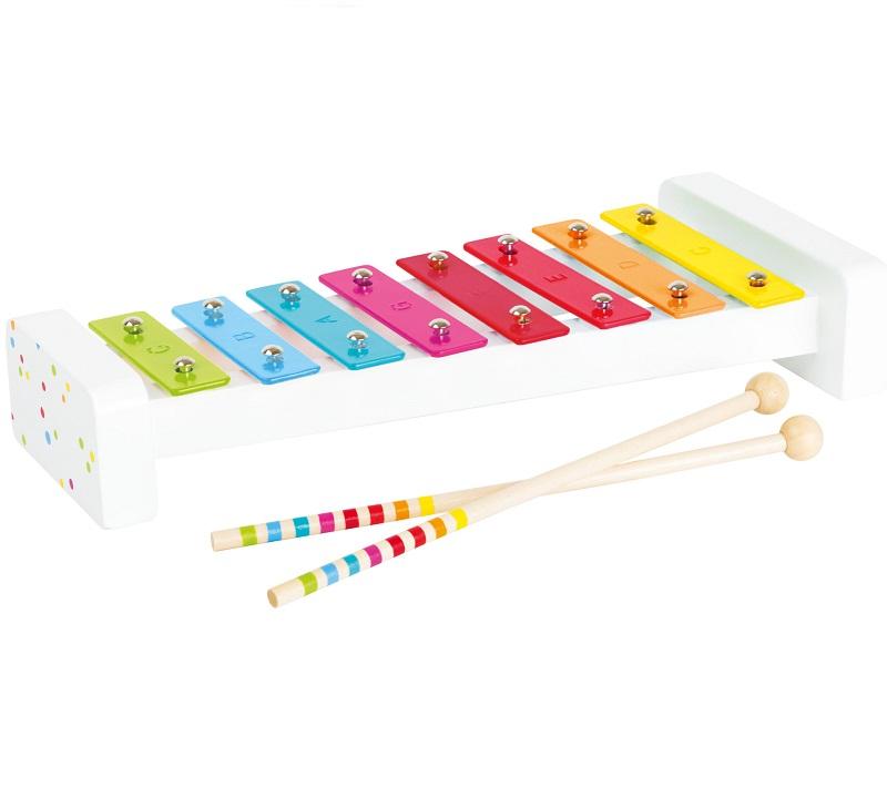 Värviline ksülofon lastele