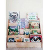 Montessori raamaturiiul ja raamatud