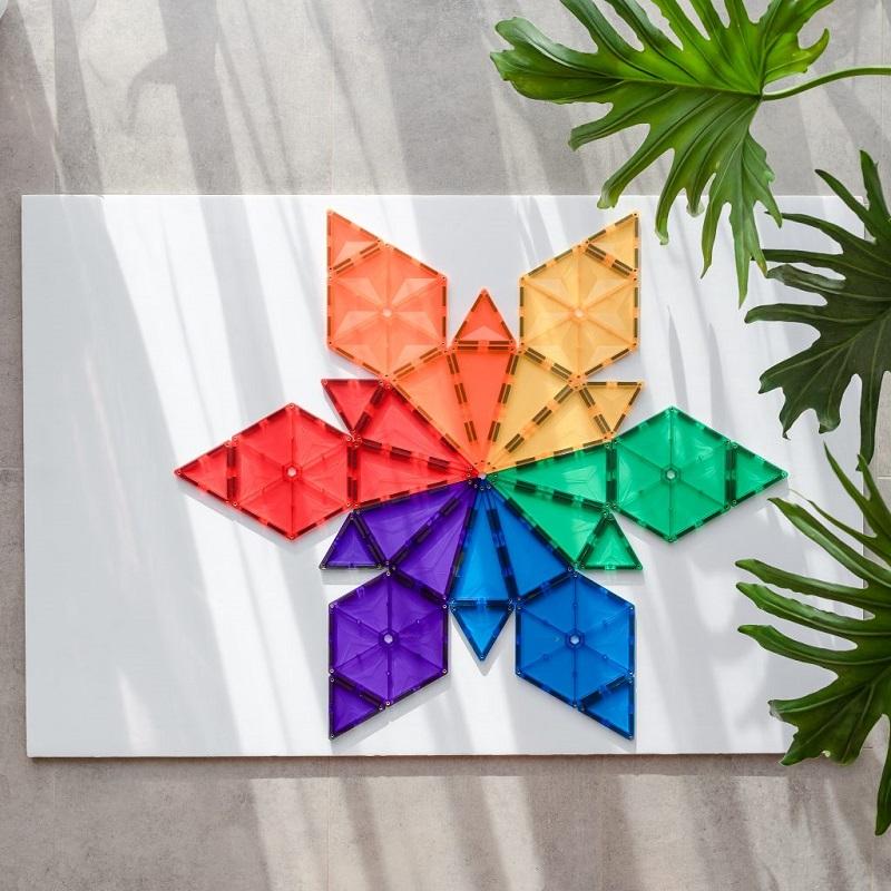 Connetix magnetklotsid geomeetriline pakk