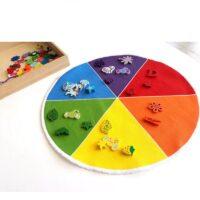 Montessori värviratas
