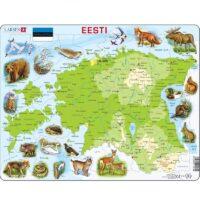 Eesti kaardiga pusle