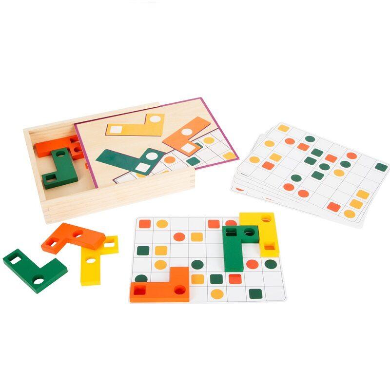 Geomeetriliste kujunditega õppemäng