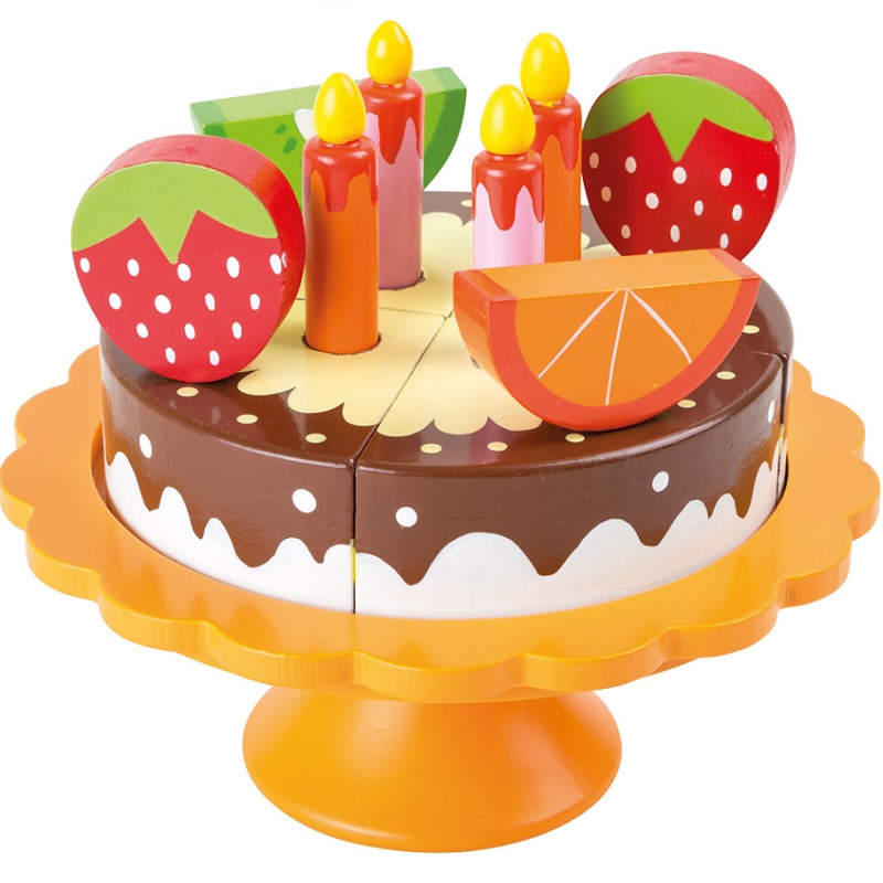 Puidust lõigatav tort