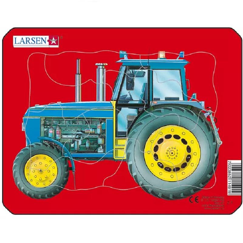 Traktoriga realistlik pusle